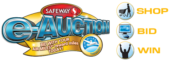 Safeway e-Auction logo