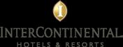 Clickable logo of intercontinental hotel and resorts