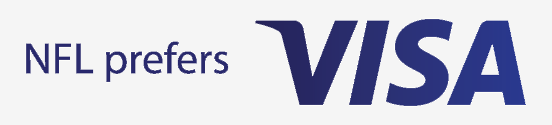 NFL prefers Visa logo