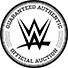 Guaranteed Authentic WWE Official Auction Seal