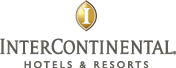 Clickable logo of intercontinental hotel and resorts