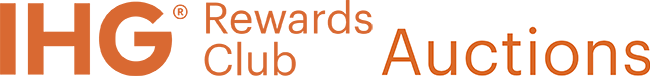 Logo of IHG® Rewards Club Auctions